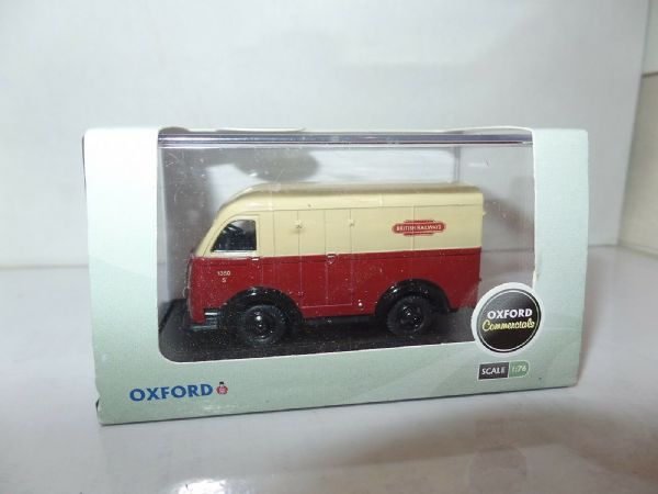 Oxford 76AK016 AK016 1/76 OO Scale Austin 3 way K8 Van British Rail Railways